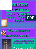 Sentence Structure Lesson Final PPT
