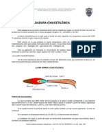 soldadura oxiacetilnica