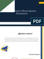 Presentación Oficial Agentes Económicos
