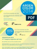ARGENCOLOR2014 Convocatoria PRÓRROGA