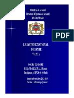 Systeme Nationale de Santé