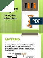 Classe de Palavras - O_Adverbio
