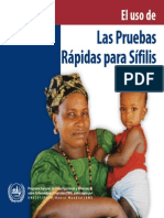 Pruebas Rapidas Para Sifilis
