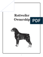 Rottweiler Ownership Booklet
