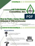 Nivel de Fluido y Cartas Dinamometricas Utilizando El TWM de Echometer (UPCO)