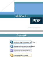 SESION 21