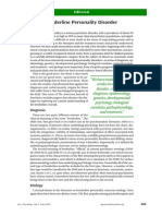 Borderline Personality Disorder, Kernberg & Michels