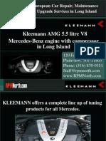 Kleemann AMG 55 V8 Engine For Mercedes in Long Island