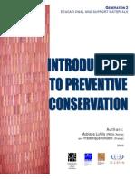 Introducción a la Conservación Preventiva