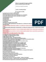 Subiectele Examenului de Igiena Mediului
