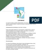 LOS MAYAS Incas y Aztecas