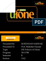 Ufone Human Resource Management