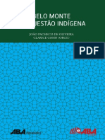 Belo Monte Questao Indigena - Joao Pacheco de Oliveira & Clarice Cohn
