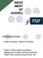 Presentation on Adi Godrej