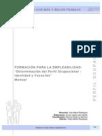 2 Perfil Ocupacional. Manual