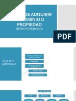 Modos de Adquirir El Dominio o Propiedad (1) (1)