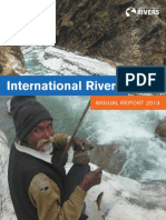 International Rivers 2013 Annual Report