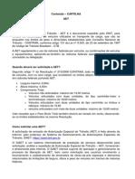 20140813 - Cartilha AET - Atualizada as Resoluções