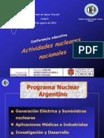 HUGO, MARTIN, ATOMICA, CORDOBA, IPEMyT 60 - COSQUIN - ACTIVIDADES NUCLEARES ARGENTINAS