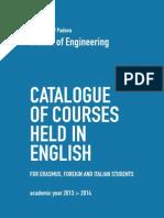 CatalogueEnglishCourses Engineering 2013-14 Web
