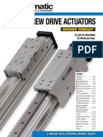 Tolomatic MXE Electric Rodless Actuator Catalog
