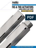 Tolomatic TKS & TKB Electric Rodless Actuator Brochure