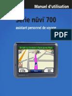 Serie Nuvi 7xx Manuel d Utilisation