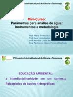 Parâmetros Para Análise de Água Instrumentos e Metodologia