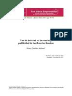 Sme v4n4 Hguillen Uso de Internet en Las Ventas y Publicidad de Las Florerías Limeñas1