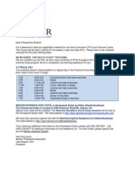 SPR12 Intensive Packet