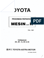 Toyota Mesin seri K