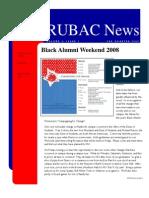 RUBAC Newsletter 3rd Qtr 2008
