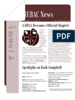 RUBAC Newsletter 4th Qtr 2006