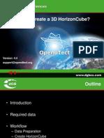 HowToCreate DataDriven HorizonCube OpendTectv4.4