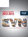 Annual report Electricity of Vietnam 2012-2013