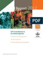 CIP Annual Report 2012