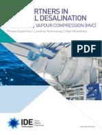 Mechanical Vapour Compression MVC Brochure