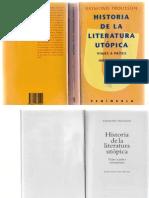 212460916 Trousson Raymond Historia de La Literatura Utopica Viajes a Paises Inexistentes