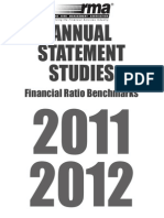 FSA Financial Ratio Benchmarks 2012