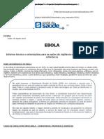 EBOLA - Informe Técnico