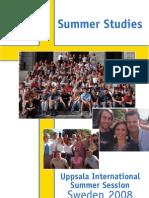 Uppsala International Summer Session