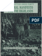 Reforestation - A Rural Manifesto for the Highlands