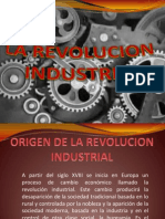 Origen de La Revoluvion Industrial