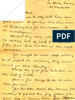 letter home from a young soldier in france (1946)