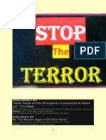 This Blog is Devoted to Ending Terrorism Around the World Thru Exhortation