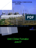 Report on Unit-5 Clinker Formation
