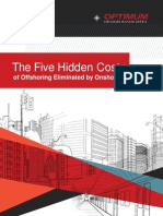 The Five Hidden Costs of Offshoring Eliminated by Onshoring