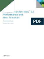 Vmware Horizon View Best Practices Performance Study