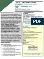 Dundalk Group of Parishes Newsletter September 2014