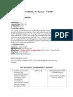 edu 144 n01 fall 2014 syllabus